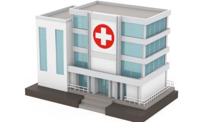 病院の業務用エアコンの入れ替え工事